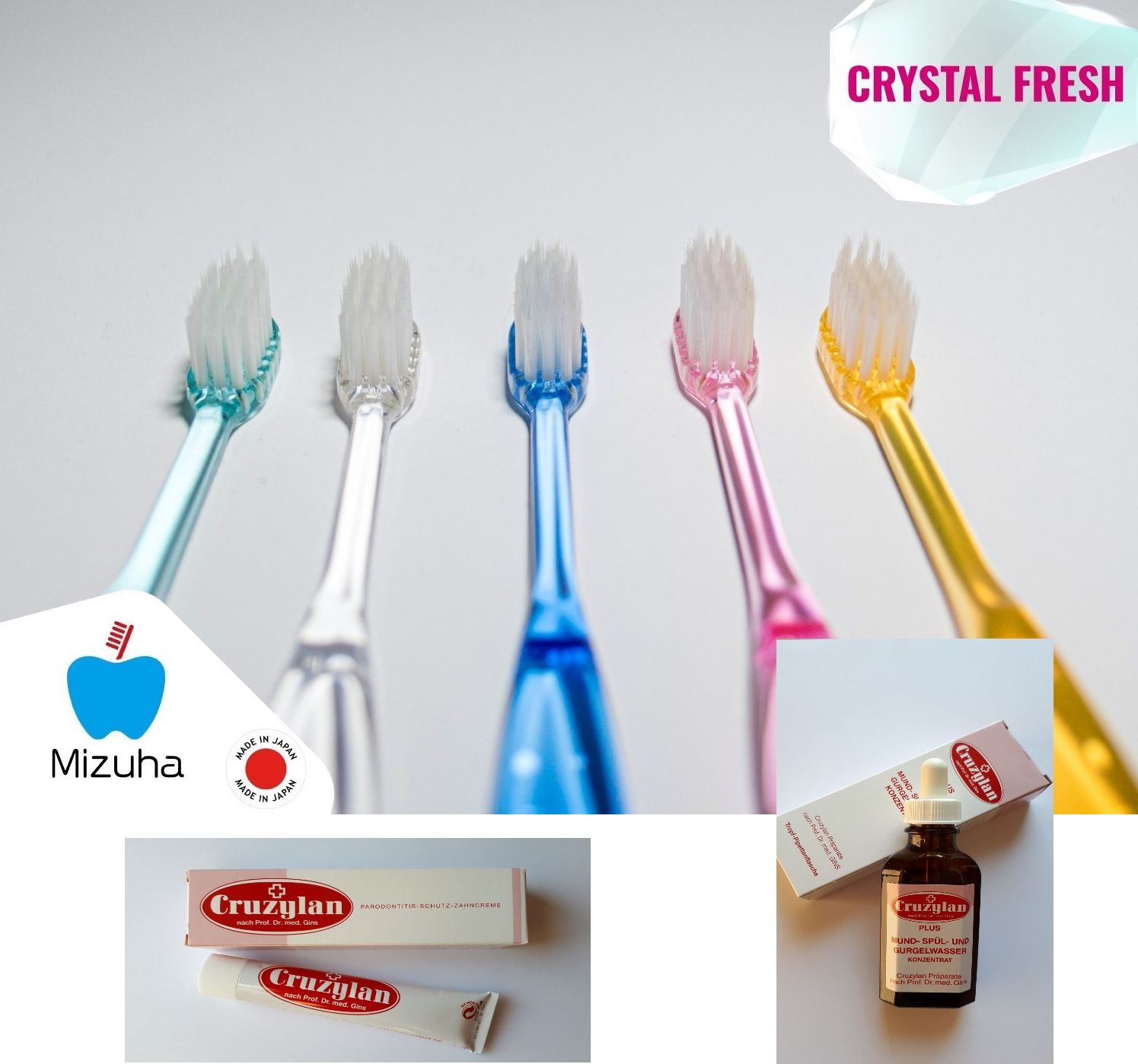 SET Crystal fresh, ZK 5ks+ZP+UV